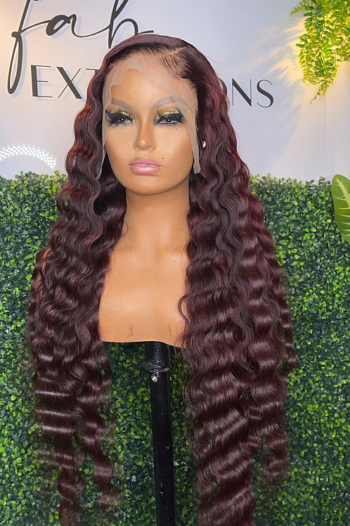 """30""""custom made lace frontal wig"""