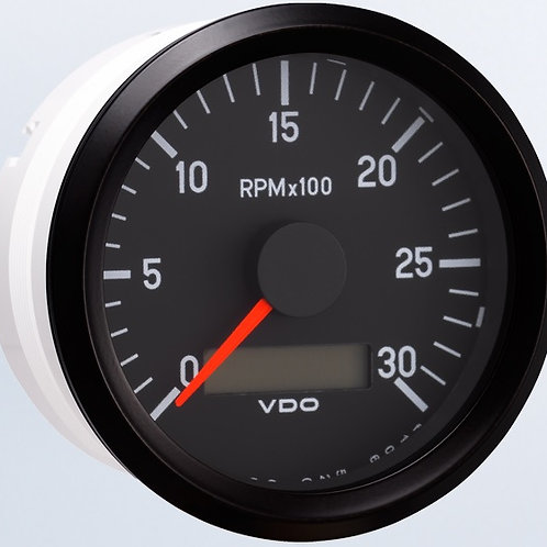VDO Tachometer, 3000RPM, 80mm