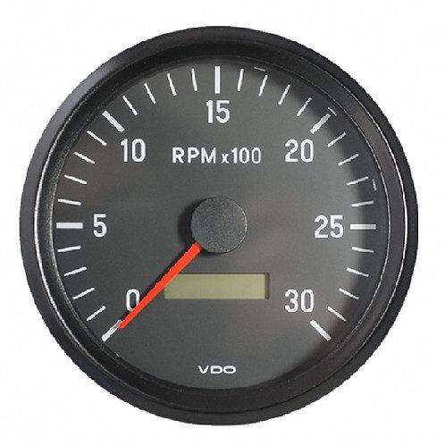 VDO Tachometer 3.000 RPM 100mm 12-24V (Illumination)