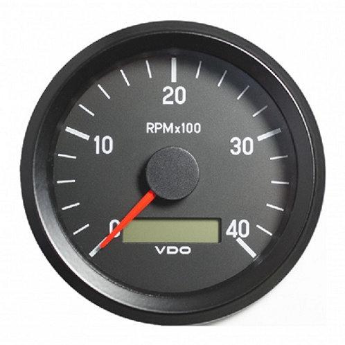 VDO Tachometer 4.000 RPM 80mm 12-24V