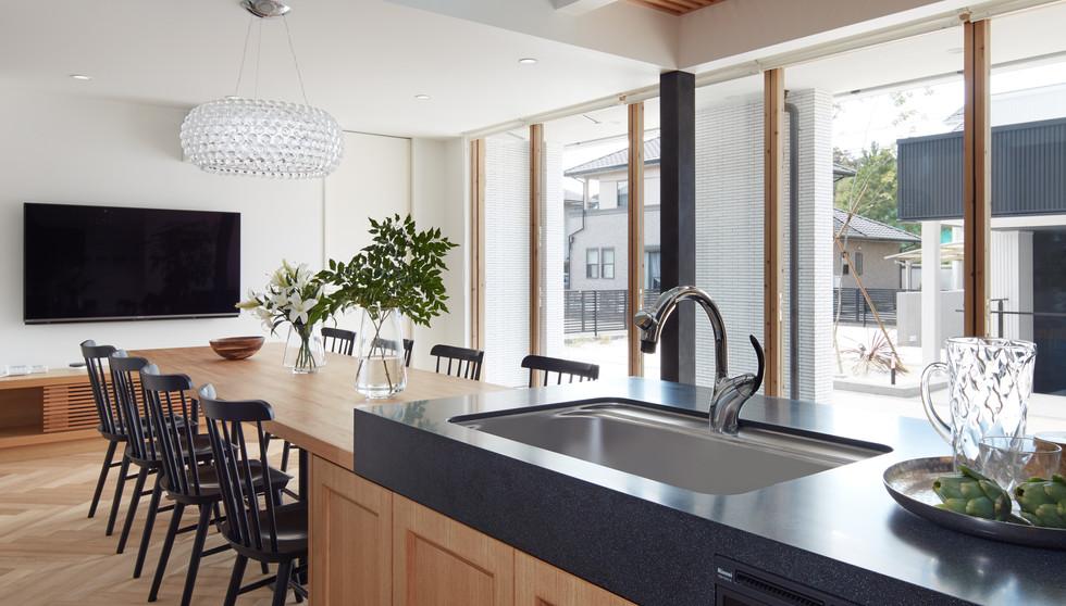OTS house kitchen