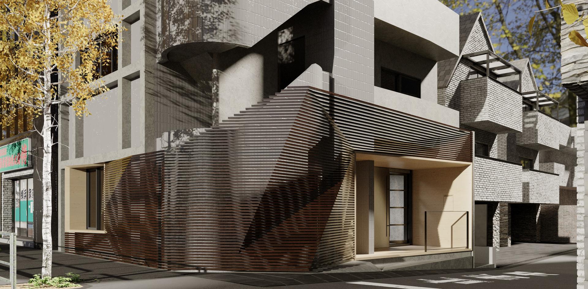 Fourier facade