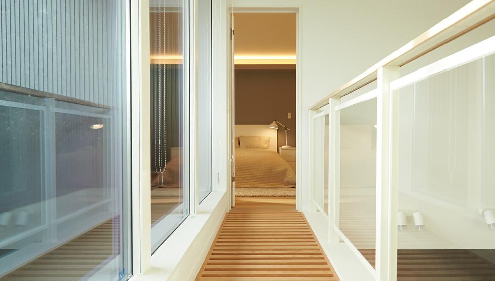 OTS house corridor