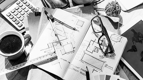 blueprint-architecture-draft-interior-de