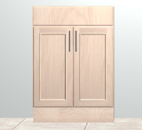Double Doors and False Drawer