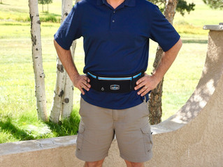 Four-time Olympian loves the Running Belt Max running waist pack!