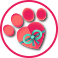 Paws for Giving Logo - Transparent - Cir