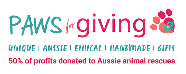 Paws for Giving Logo - Transparent - Ban