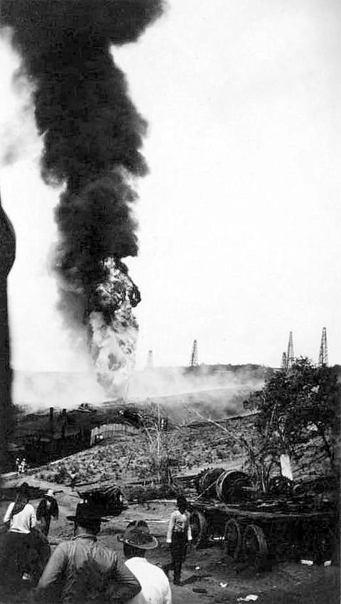 Lightening Strike; 1913