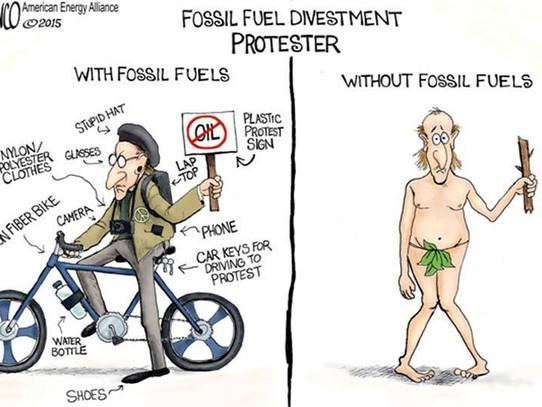 Fossil Fuel Hypocrites