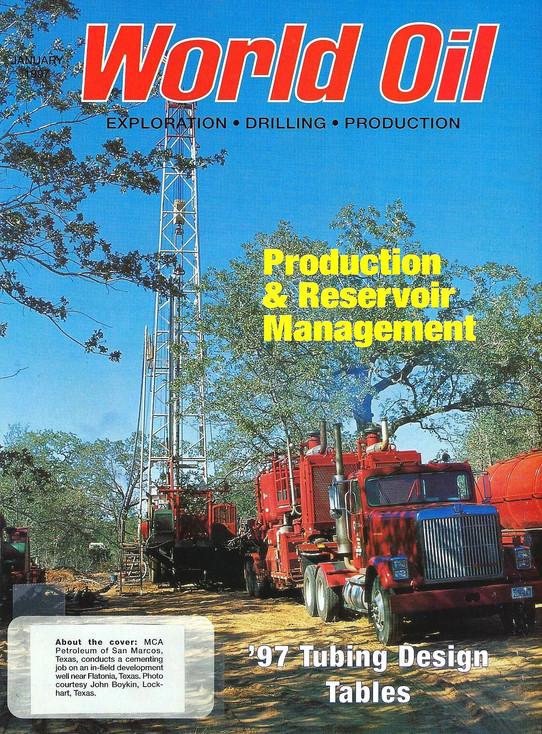 World Oil Cover; 1997