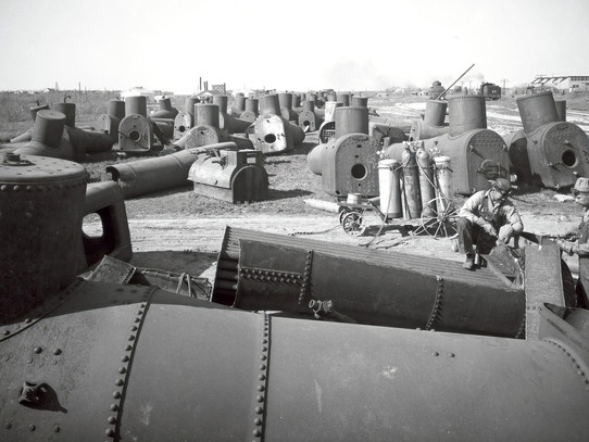 Boiler Graveyard; 1938