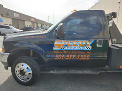 Truck Lettering and Graphics
