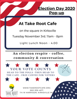 Election Day Pop-up