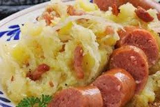Potato, Bacon and Sauerkraut Mash (Stamppot Zuurkool)