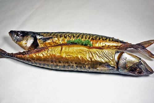 Hot Smoked Norwegian Mackerel