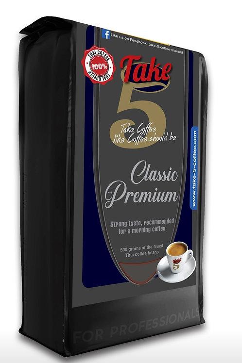 Take 5 Coffee Beans - Classic Premium