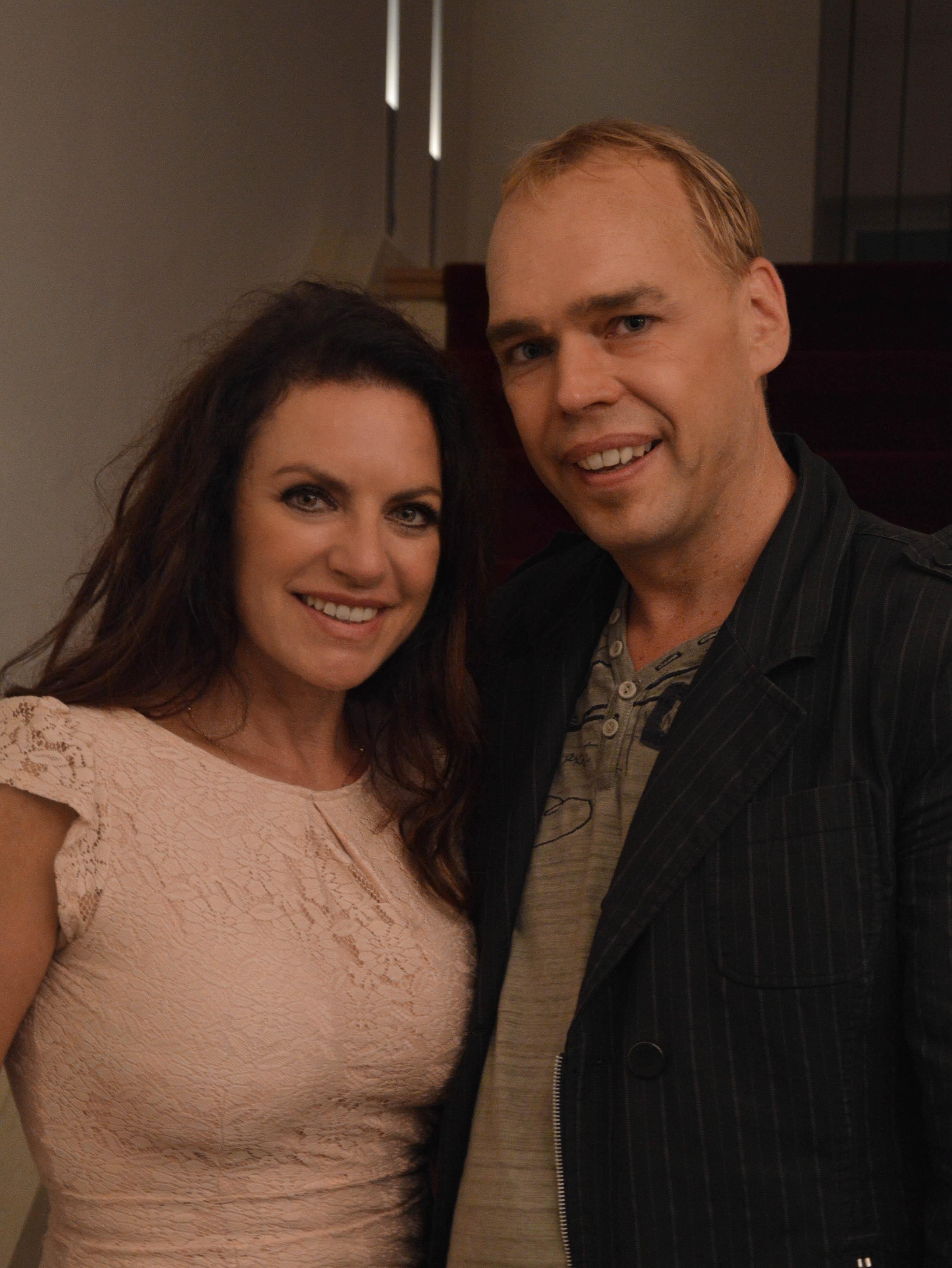 Christian Schiesser mit Christine Neubauer