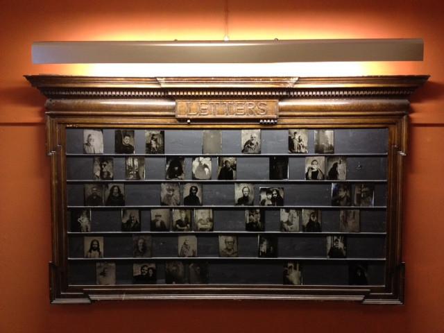 Detail installation at Edinburgh College of Art