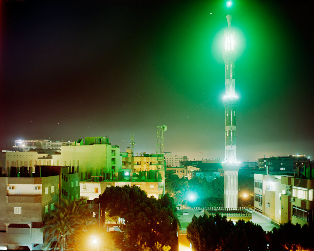 View from my Window in Luxor at Night