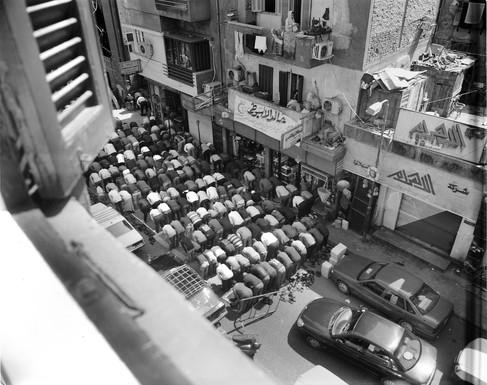 Prayer in Cairo Spring 2010