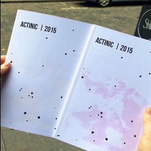 Preorder ACTINIC Catalogue ltd ed