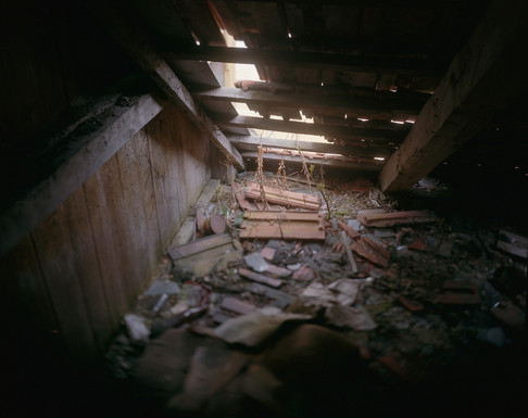 An attic in Borsec