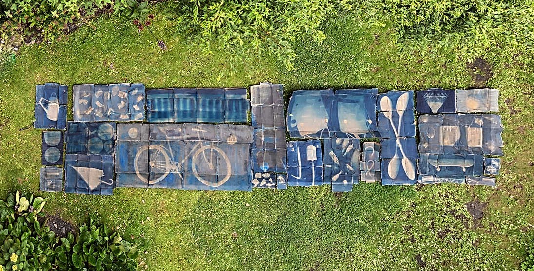 Assemblage Layout in Yard