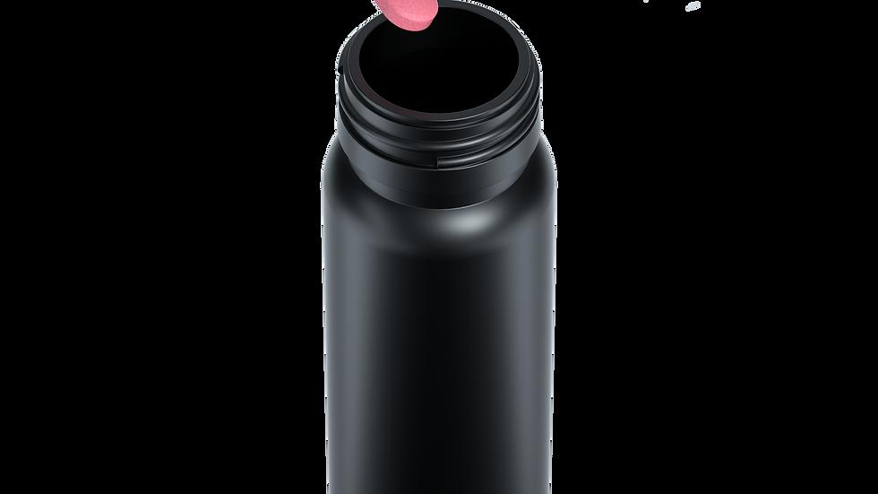Extraction tubes black 250 pcs without cap