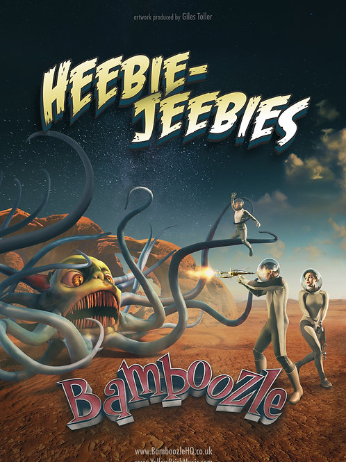 A3 Poster - Heebie Jeebies