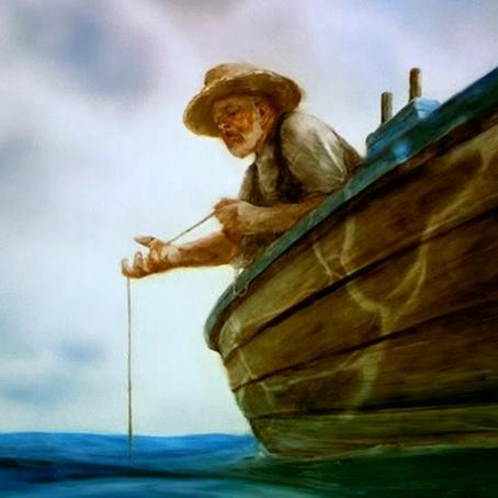 O conto do Pescador em Alto Mar