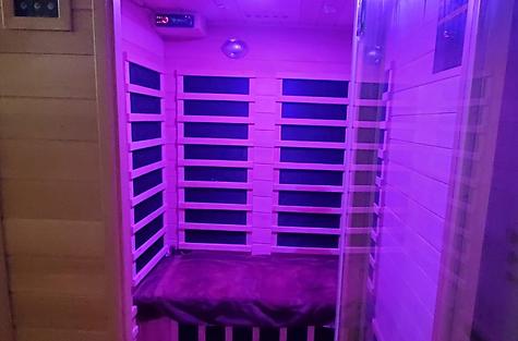 Infrared sauna Float Into Wellness Woodb