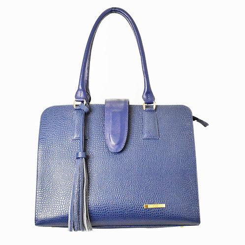 Bolso Azul Textura