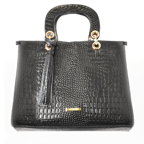 Bolso Black Crocodile