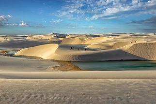 Lencois Marnhenses National Park, Brazil, South America, sand dunes, desert, lagoons