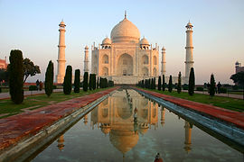 Taj Majal, Agra, India, temple, shrine, gardens