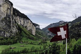 Lauterbrunnen valley, Switzerland, Europe, mountains, nature
