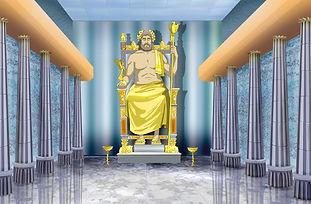 Zeus, statue, greece