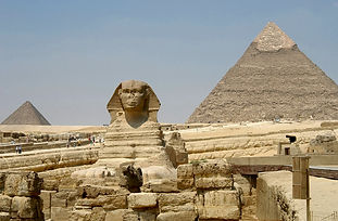 pyramids, Egypt, North Africa