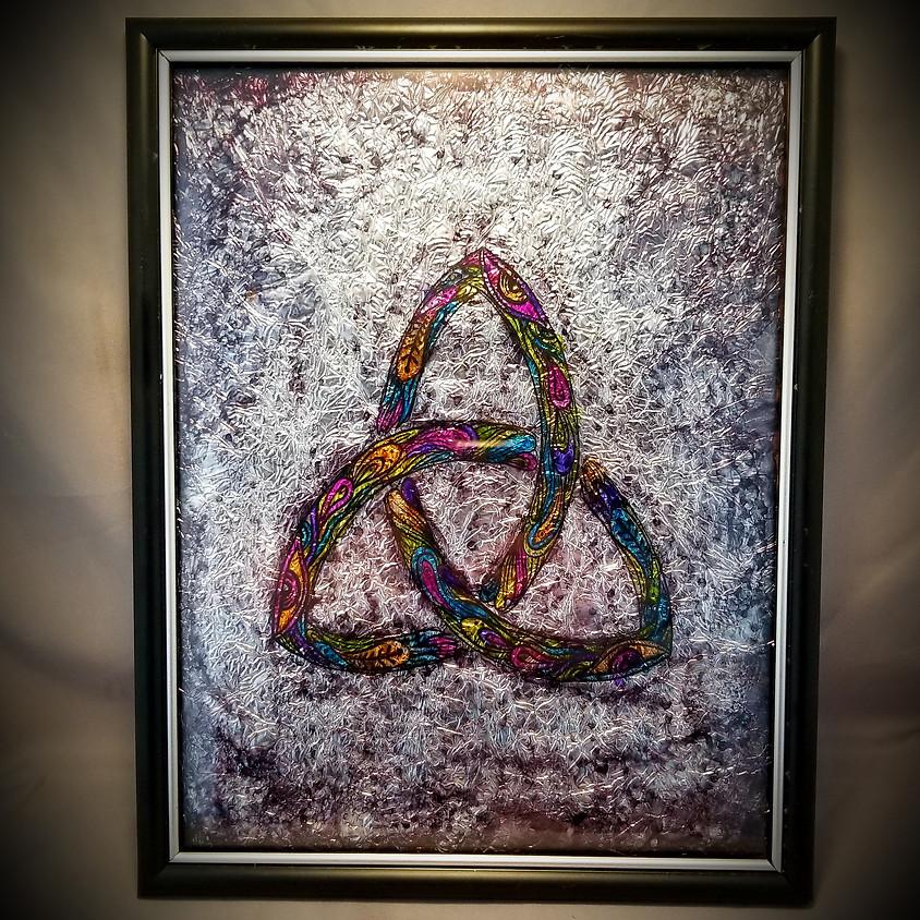 Celtic Knot Framed Art - $25