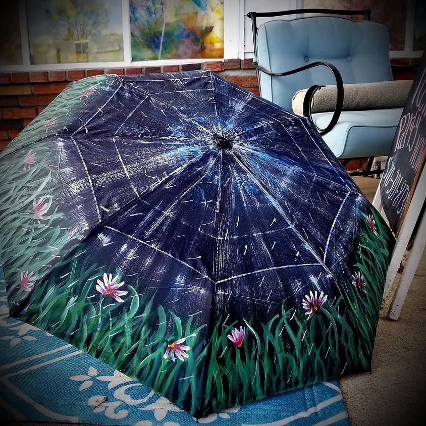Spring Flower Umbrella $40