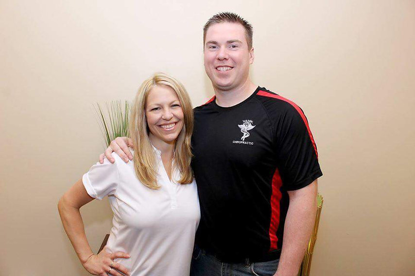 Dr Frank Yanik and Jessica Yanik