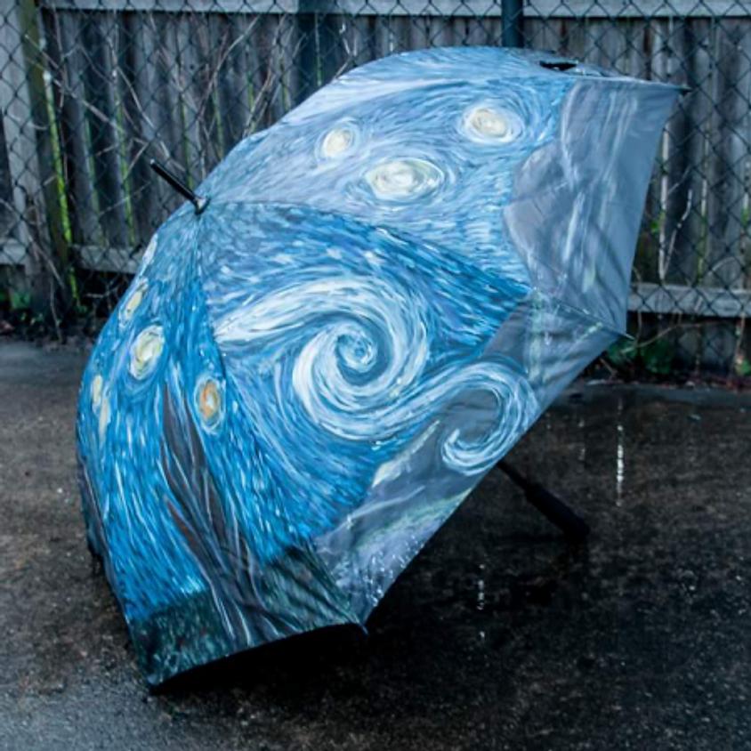 Stary Nights Umbrella - $40