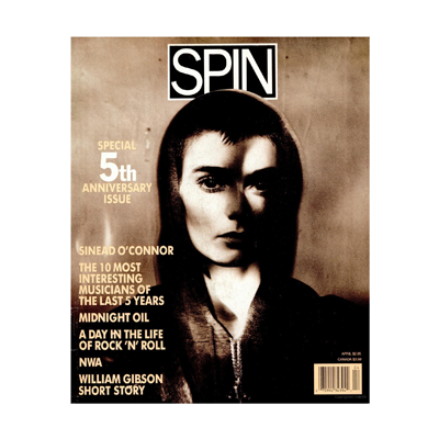 Spin Magazine Photoeditor and Assistent to the Art Director