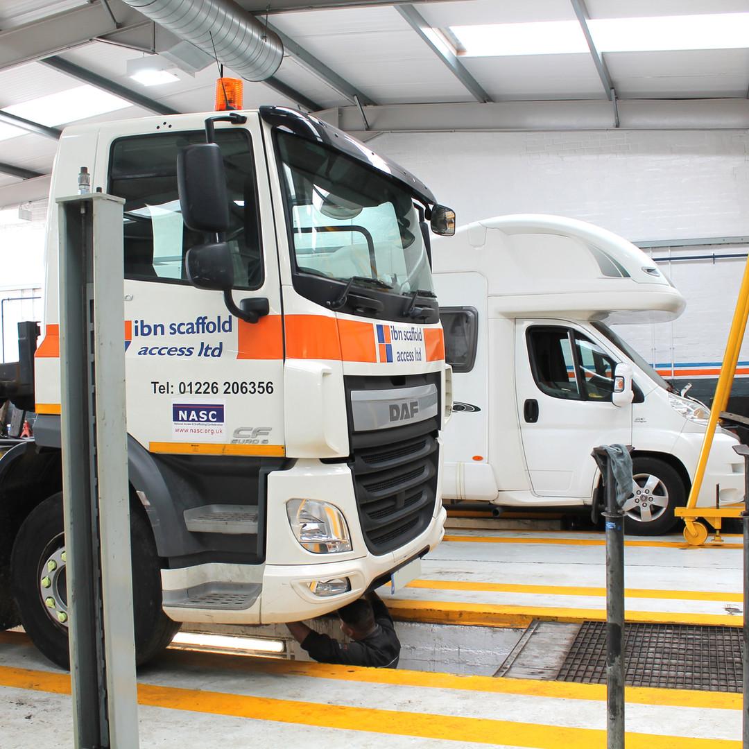 Multi vehicle facility