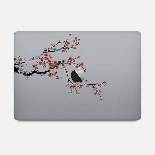 Kirschblütenast