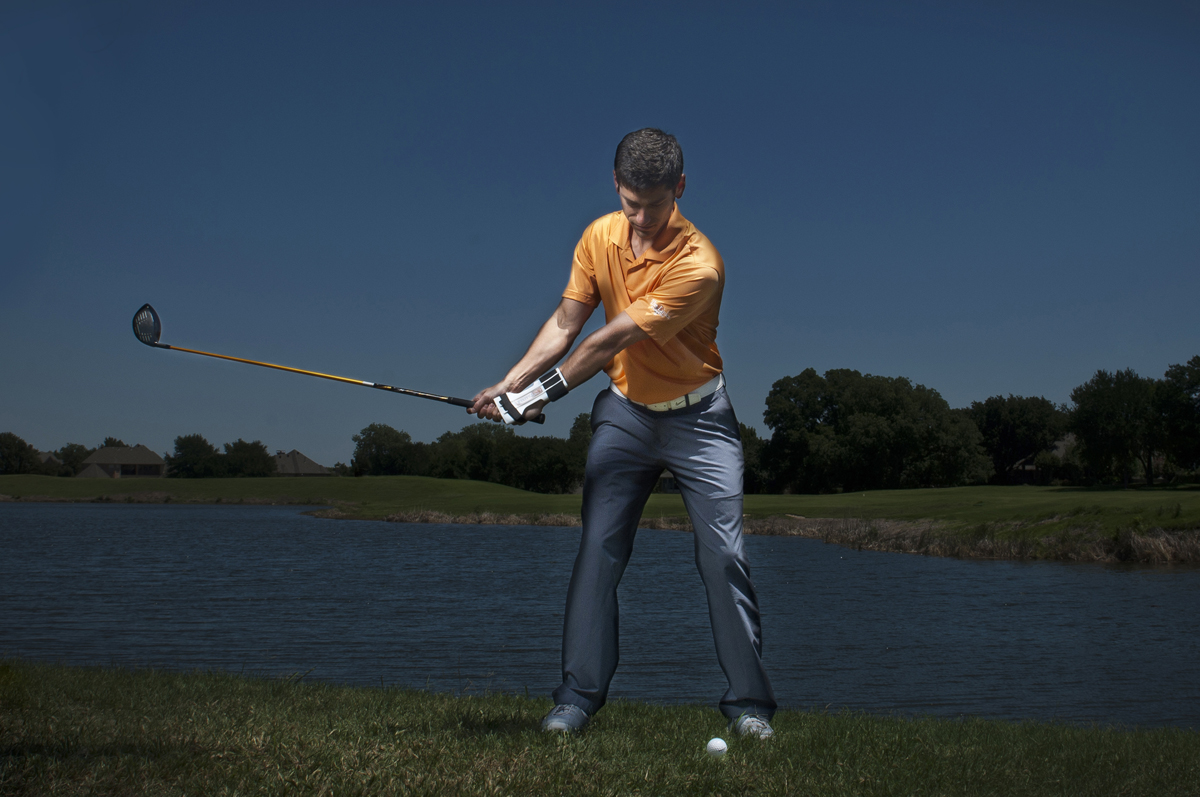 Golf Training Aid Swing Initiation