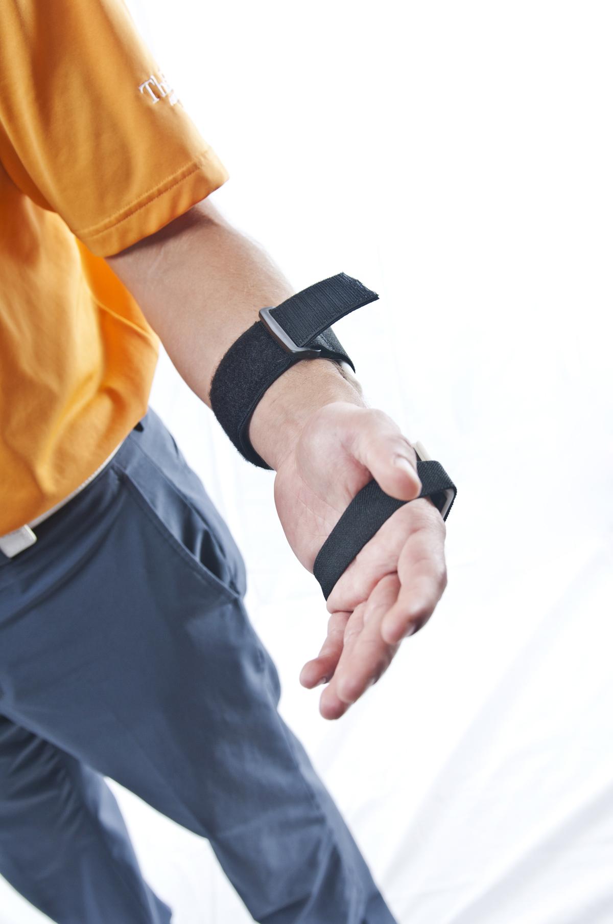 WrisTRAINER Lead Wrist Installation Shot 3