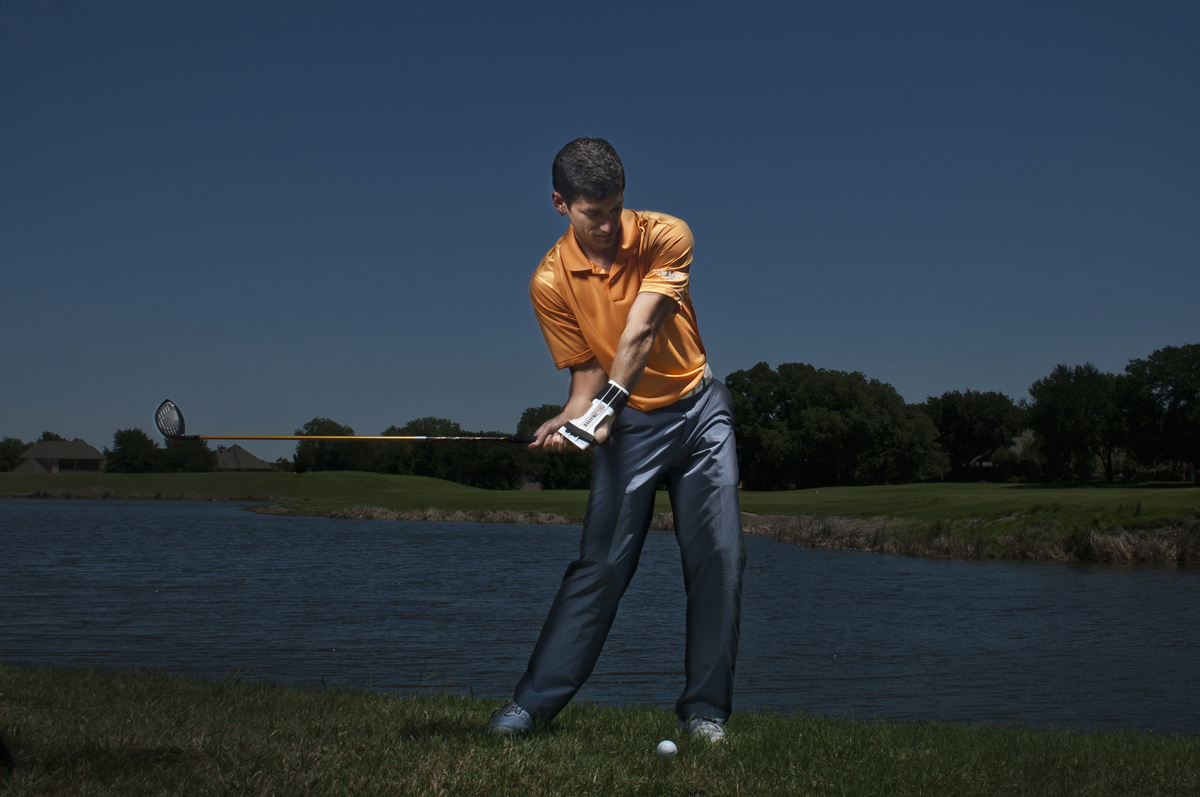 Golf Training Aid Downswing Start