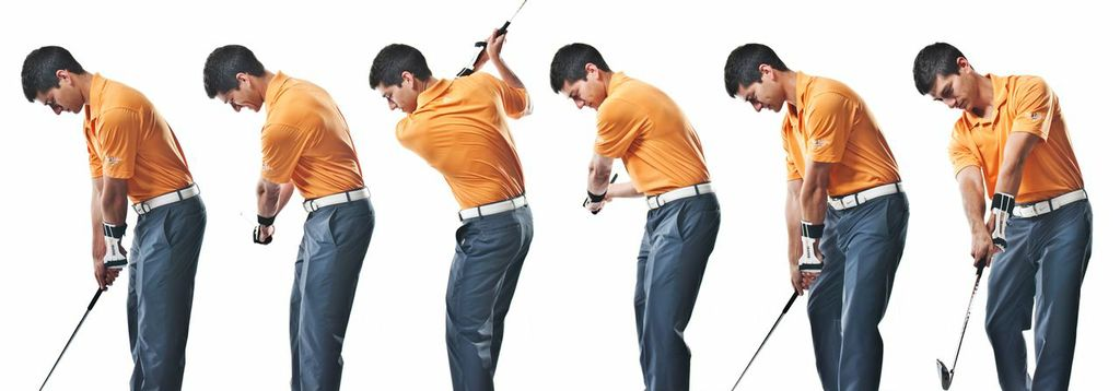 WrisTRAINER Golf Swing Sequence Front